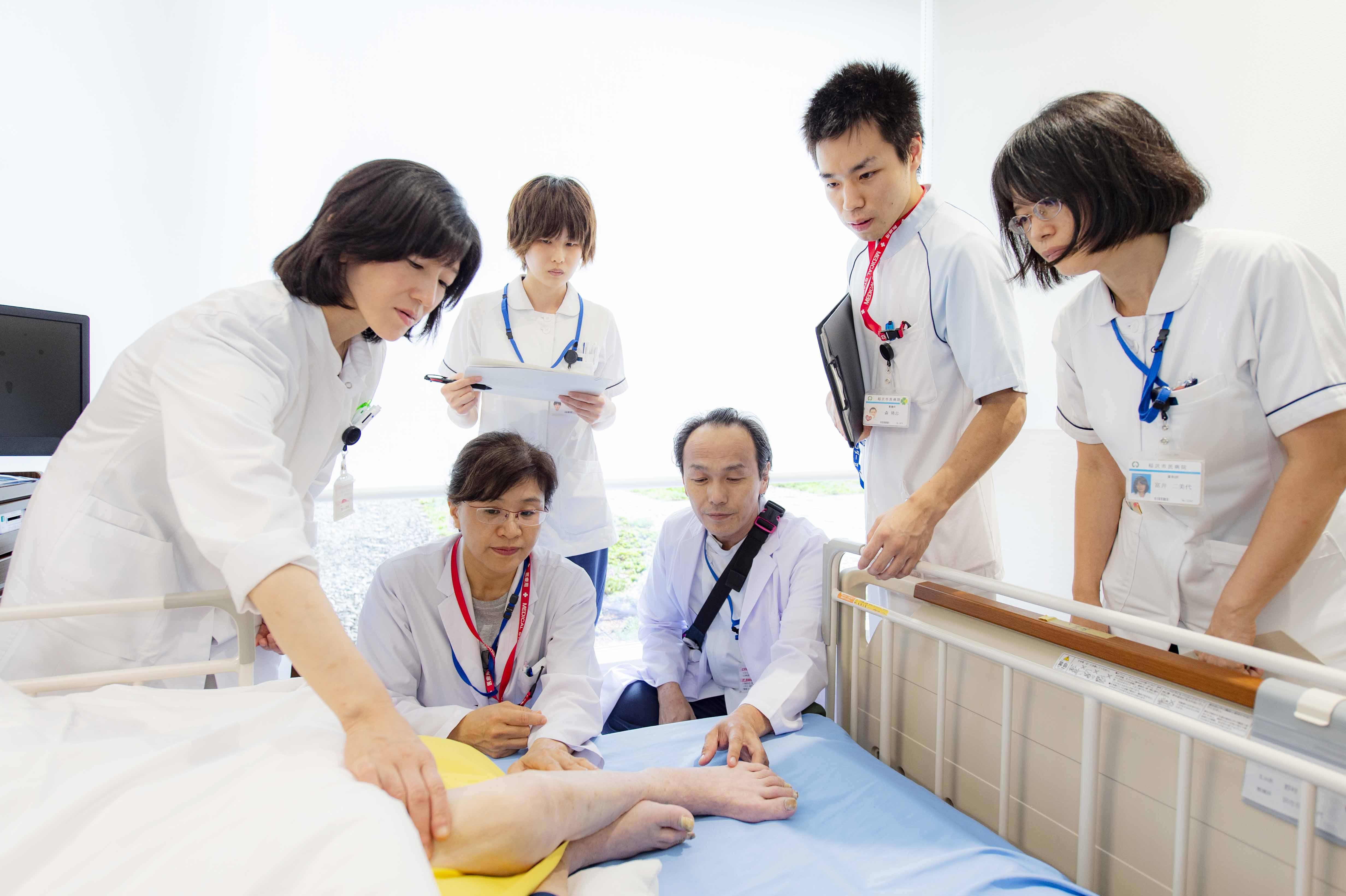 チーム医療の写真