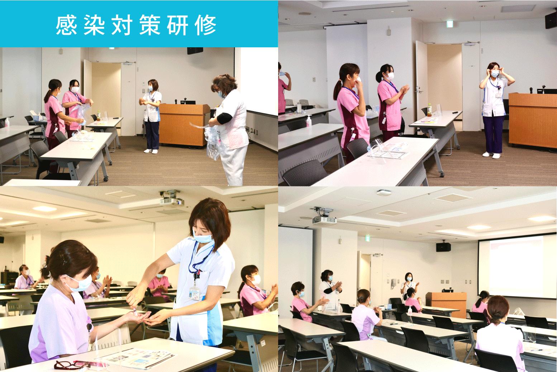 感染対策勉強会の写真