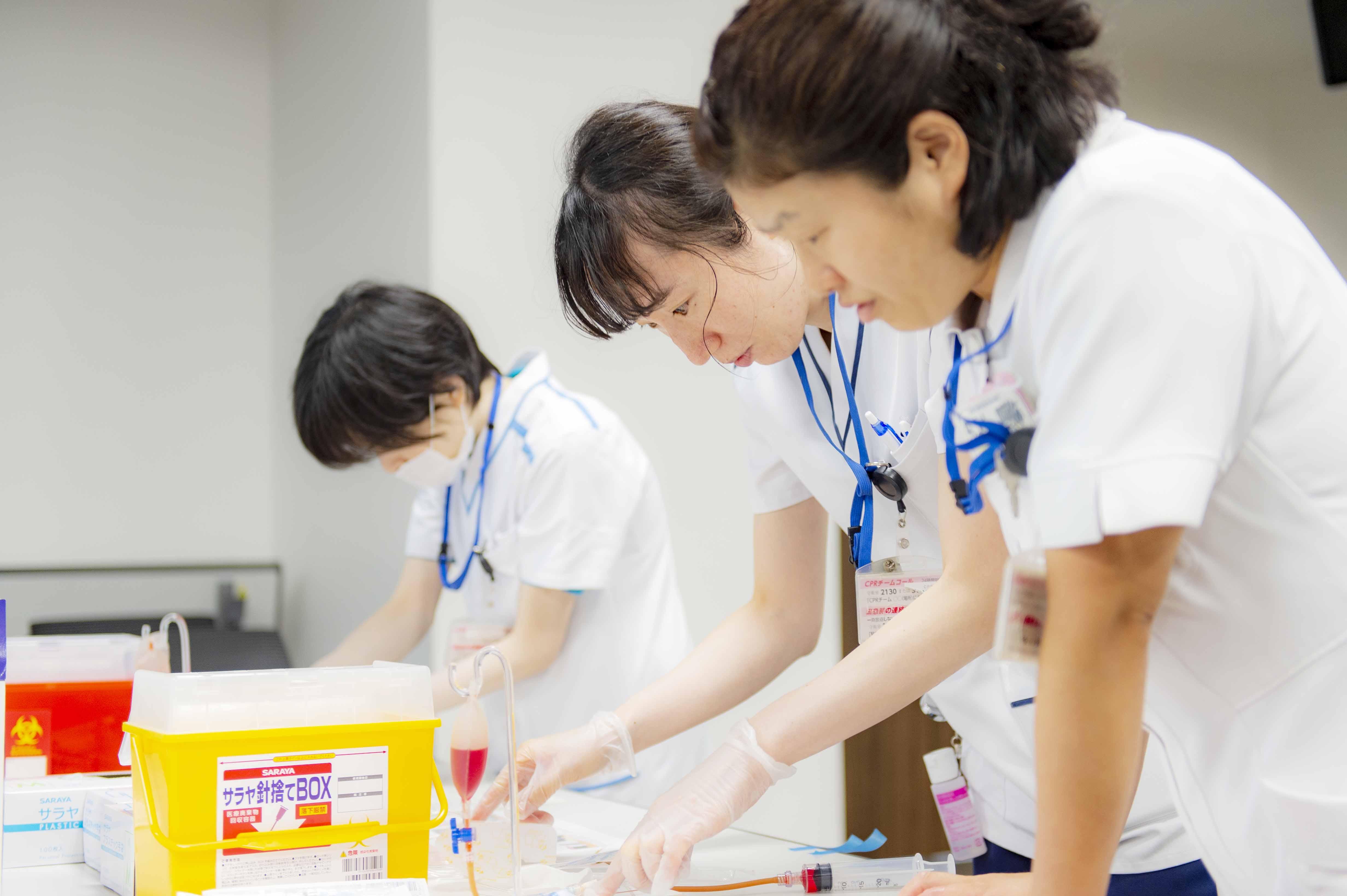 看護教育場面の写真